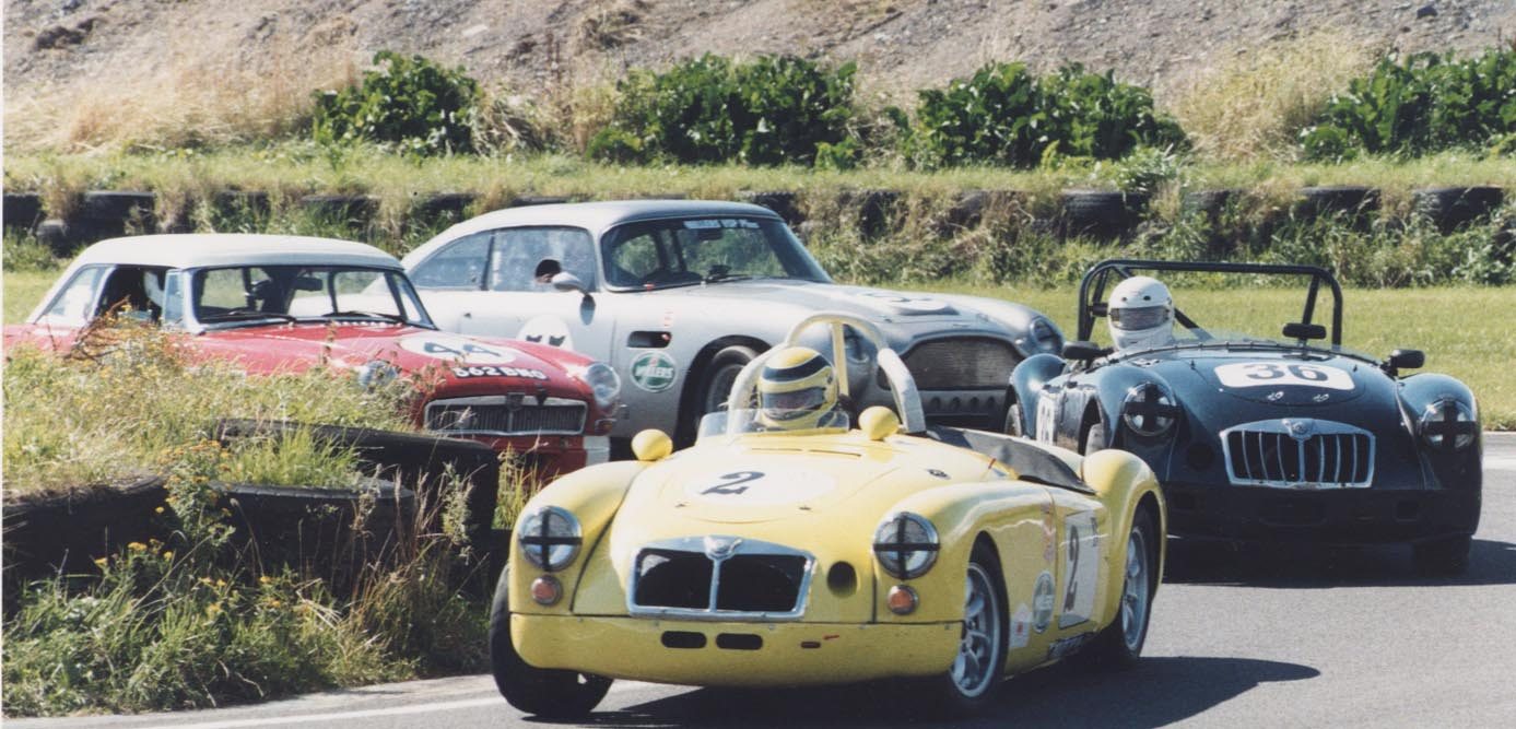 MGA at Pembrey 1980's